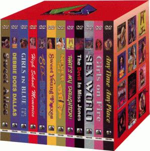 Classic porn movie 12 Pack First Edition - DVD