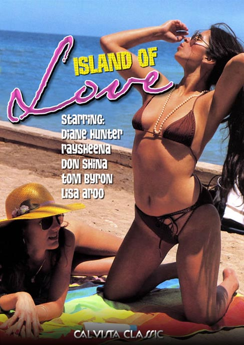 Two young ladies are swept to the Island of Love via a fantasy frolic 