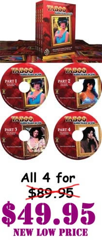 Taboo American Style 4 Pack